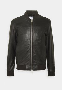 Selected Homme - SLHKANE - Leather jacket - black - 0