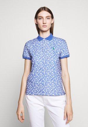 Polo - blue/white