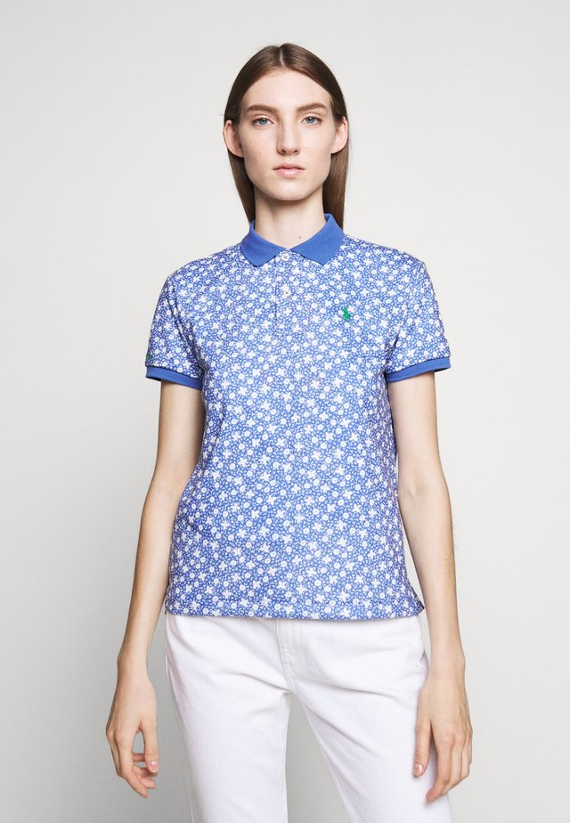 Polo shirt - blue/white