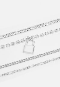 Uncommon Souls - LAYERED CHAINS UNISEX - Collier - silver-coloured - 2