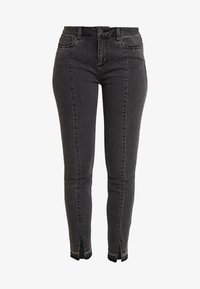 comma casual identity - TROUSERS - Jeans Skinny Fit - grey/black - 4