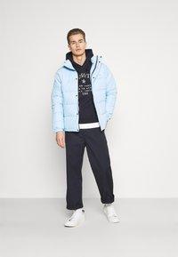 Schott - NEBRASKA - Winter jacket - pale blue - 1