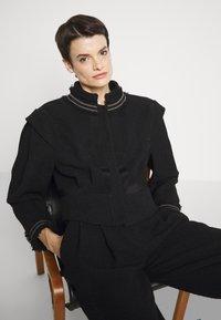 Alberta Ferretti - Summer jacket - black - 5