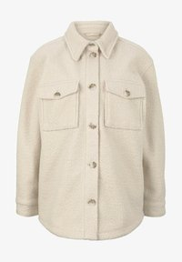 TOM TAILOR DENIM - Fleece jacket -  beige - 4