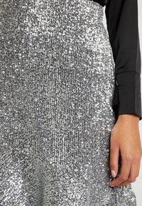 Monki - SKIRT - A-snit nederdel/ A-formede nederdele - silver - 4