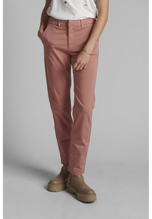 NUCADDIE PANTS - Chinos - ash rose