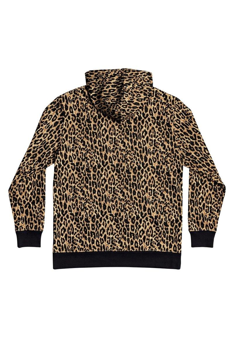 DC Shoes Kapuzenpullover - leopard fade/braun p2ueXm