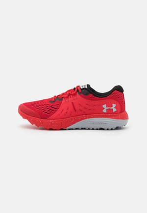 CHARGED BANDIT - Trail running shoes - red
