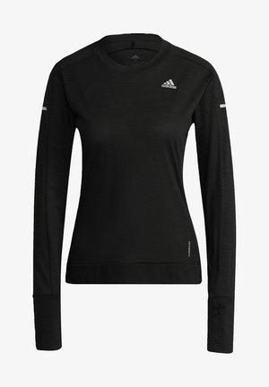 COOLER LONGSLEE - Long sleeved top - black