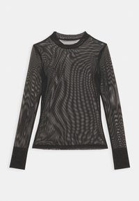 Calvin Klein Jeans - HIGH NECK - Long sleeved top - black - 1