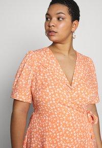 Fashion Union Plus - MERYL DRESS - Day dress - cantalope - 3