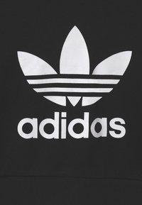 adidas Originals - CROPPED HOODIE - Sweatshirt - black/white - 2