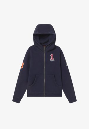 NUMBER FULL ZIP - Mikina na zip - navy