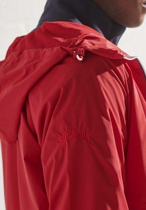 Summer jacket - varsity red