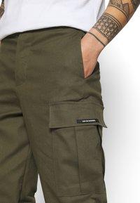 9N1M SENSE - PANTS UNISEX - Pantalon cargo - khaki - 3