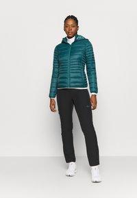 CMP - WOMAN JACKET SNAPS HOOD - Winter jacket - petrolio - 1