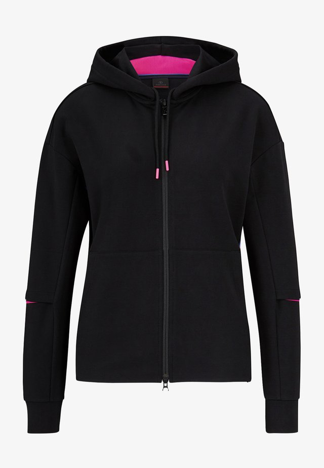 ERLA - Zip-up hoodie - schwarz