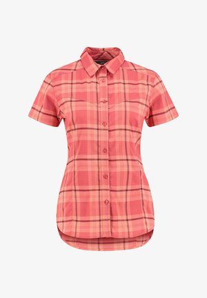 Button-down blouse - himbeer