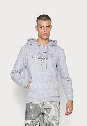 JORSURFACE BRANDING HOOD - Sweatshirt - light grey melange