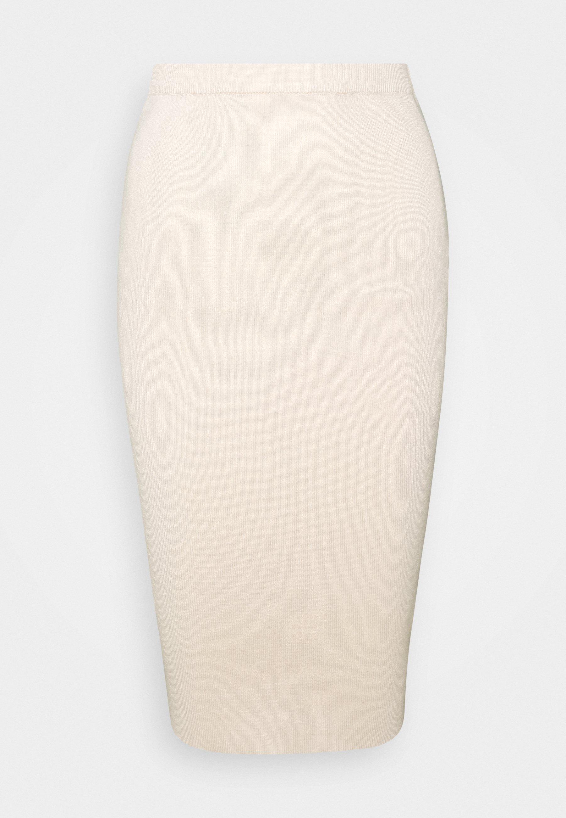 Femme KNITTED MIDAXI SKIRT - Jupe crayon