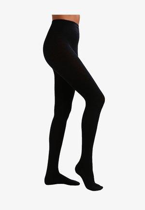 FALKE Softmerino Strumpfhose Blickdicht glatt - Strømpebukser - black
