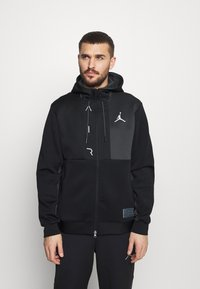 Jordan - AIR - Training jacket - black/dark smoke grey - 0