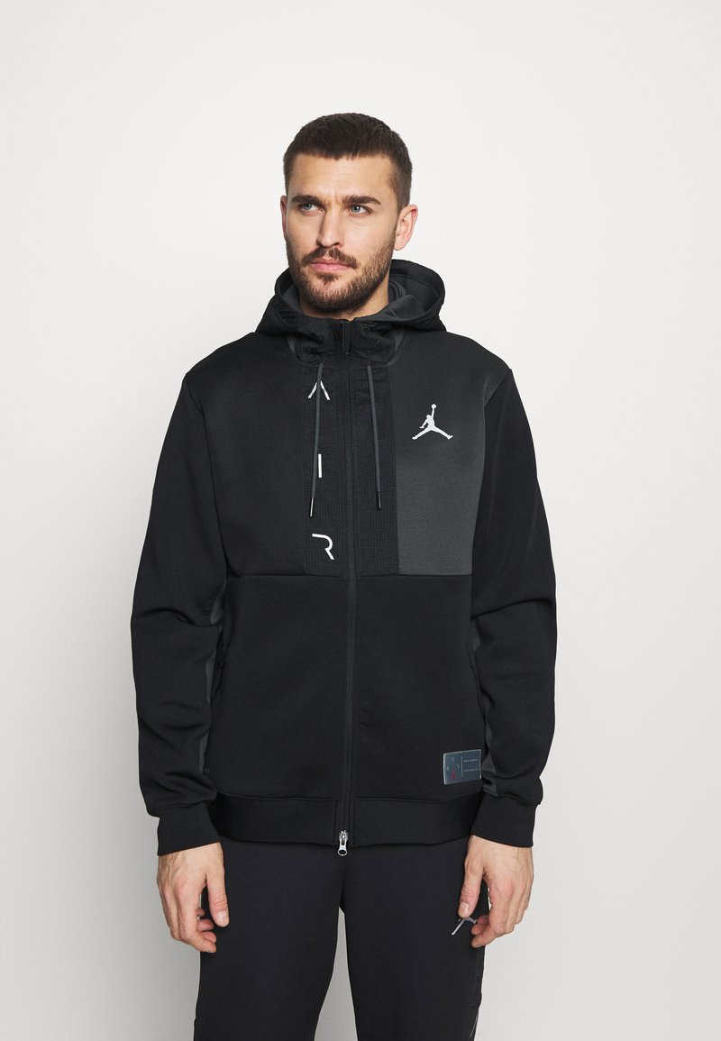 Jordan - AIR - Training jacket - black/dark smoke grey