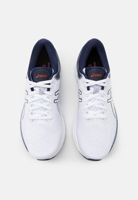 ASICS - GEL KAYANO 27 - Stabilty running shoes - white/peacoat - 3