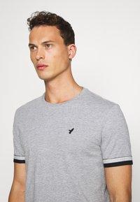 Pier One - Print T-shirt - grey - 3