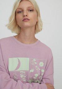 PULL&BEAR - Sweatshirt - rose - 4