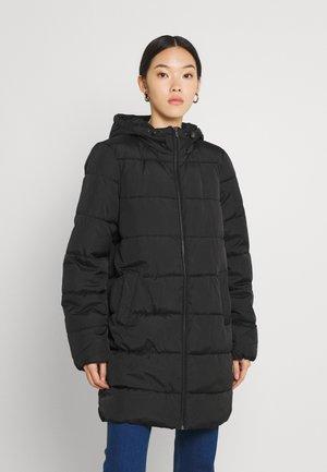 VIKARLA LONG PUFFER JACKET - Classic coat - black