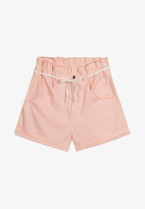 Denim shorts - soft pink