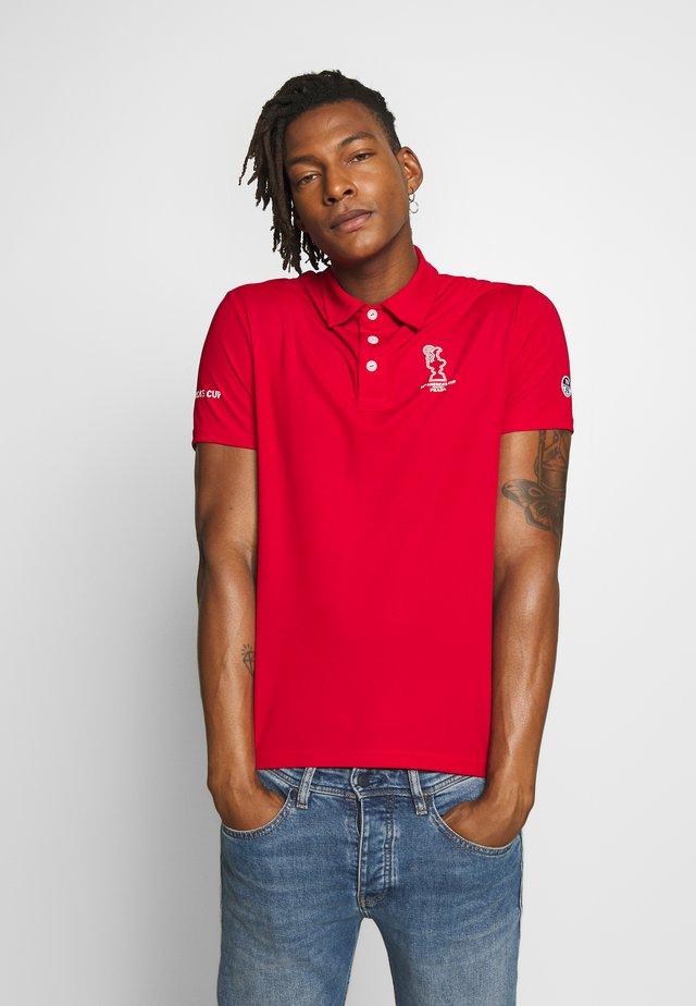 VALENCIA  - Polo - red