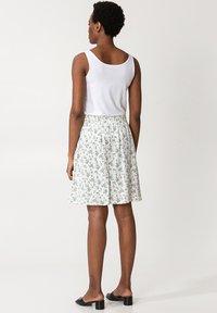 Indiska - A-line skirt - white - 2