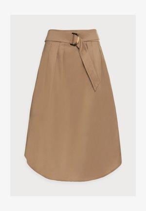 SKIRT - A-line skirt - bark