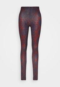 ONLY - ONLARIA LONG - Leggings - Trousers - bordeaux - 3