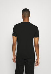 Calvin Klein Jeans - SHADOW LOGO TEE - T-shirt con stampa - black - 2