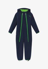 TrollKids - NORDKAPP OVERALL - Snowsuit - navy/green - 2