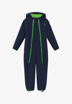NORDKAPP OVERALL - Snowsuit - navy/green