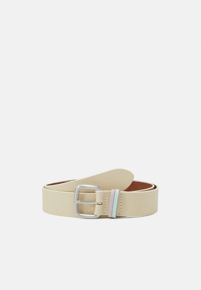 DOUBLE LOOP - Belt - beige