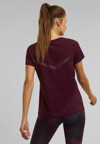 Esprit Sports - Basic T-shirt - bordeaux red - 0
