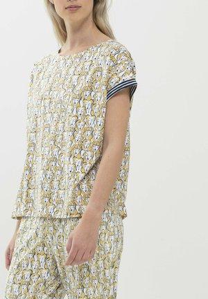 Print T-shirt - goldenrod
