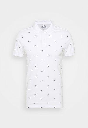ICON GEO - Polo shirt - white