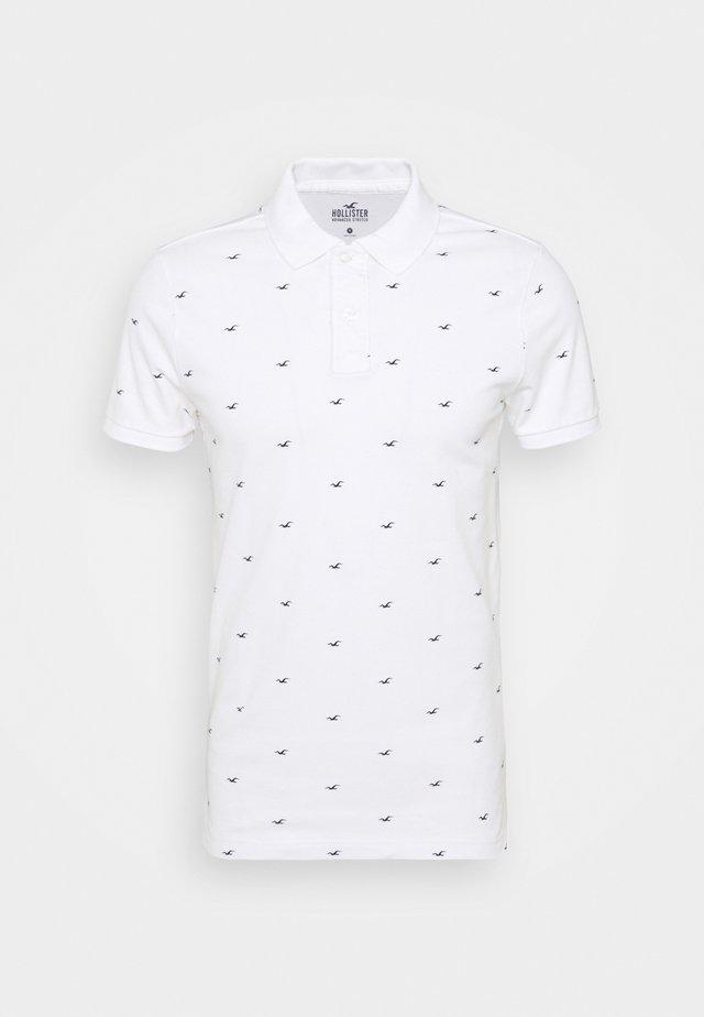 ICON GEO - Poloshirt - white