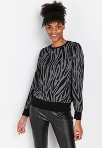Wallis - Long sleeved top - grey - 4