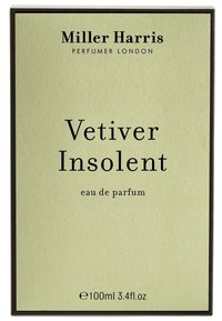Miller Harris - MILLER HARRIS EAU DE PARFUM VETIVER INSOLENT EDP - Eau de Parfum - - - 1