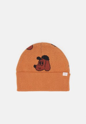 DOG BEANIE UNISEX - Beanie - true brown/dark copper