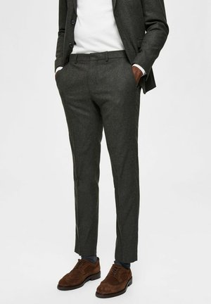 Suit trousers - forest green