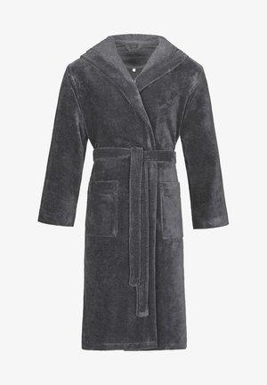 BUGATTI KAPUZENBADEMANTEL IN EINEM SPORTIVEN STYLE AUS MICROFASE - Dressing gown - grey