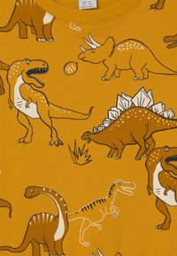 Lindex - MINI DINO UNISEX - Sweatshirt - dark dusty yellow - 2